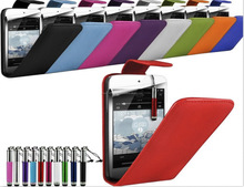 Case in Leather Flip Style colorful case for Sony Xperia S, iPhone 6, iPhone 5 and iPhone 4 and for Samsung S5 and Note 3