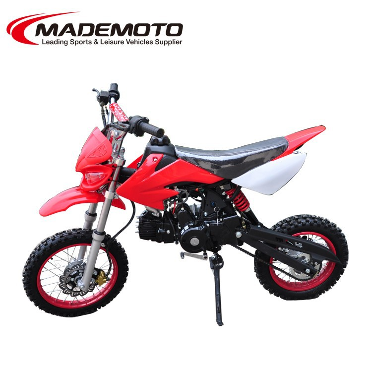 Black 110cc CE Dirt Bike Fashion Monkey Bike