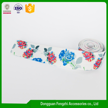 Factory supply custom printed knitted patterned elastic tape with high quality