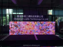LightS Outdoor rental window LED display P16 P25 P40 mesh curtain advertising display stage display lighting Billboard screen
