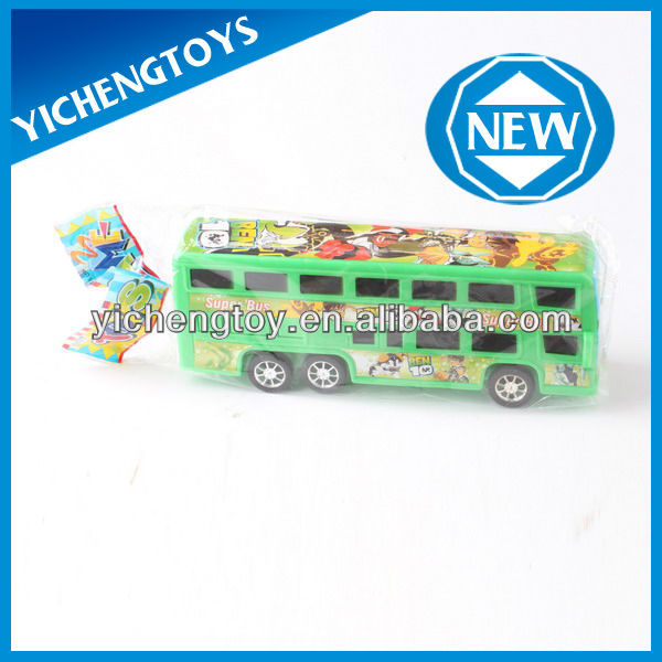 friction power car toys,small friction car toys,plastic toy bus