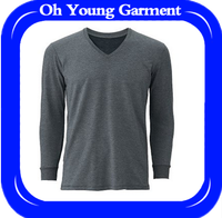 t-shirt manufacturers china cheap men clothes with long sleeve favorable price