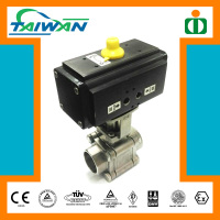 Taiwan hydraulic valve electronic, double union steel ball valve, anti blow out valve