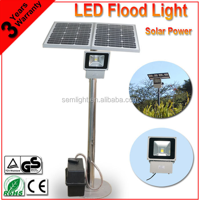 Alibaba China Supplier Basketball Court Outdoor Garden Solar LED Flood Light