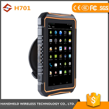 Inexpensive Products 7inch rugged handheld wireless ip 65 android 4.4.2 rfid reader 2d barcode scanner phone