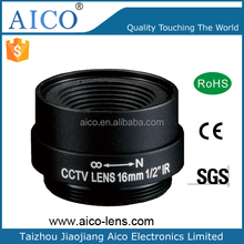megapixel 1/2 in F1.6 cctv 16 mm 1-32UN-2A CS mountable lens