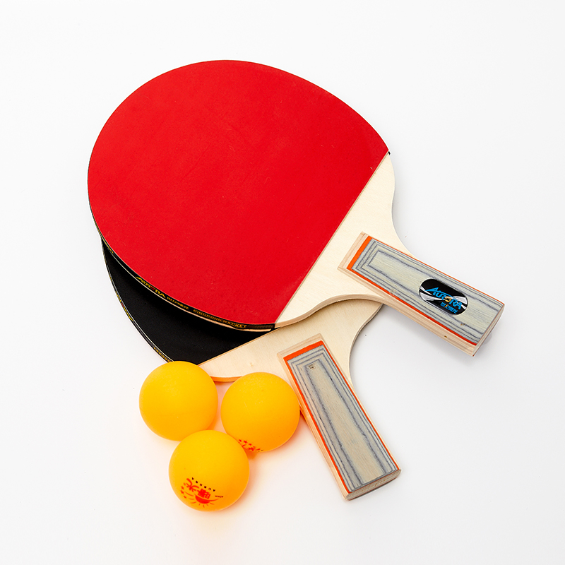 Hot sales pingpong racket set cheap price table tennis board