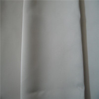 White cotton/polyester bed sheet fabric for hotel/ hospital/home/apartment
