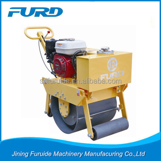 FURD Small Steel Roller 200kg Vibratory Road Compactor(FYL-450)