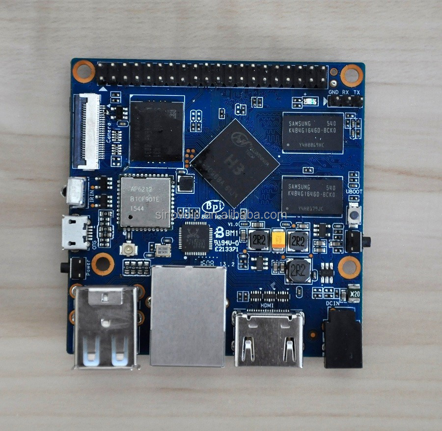 Factory price 1GB Android&Linux Banana PI M2+ Single Board Computer super to Nano/Raspberry/Orange PI