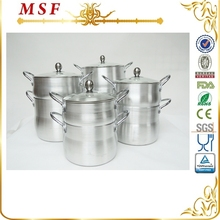 4L&6L&8L&12L satin finished aluminum mini casserole cookware MSF 6374