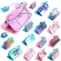 New Flip Paint Wallet Leather Case Cover Stand For Samsung Galaxy S3 Mini i8190