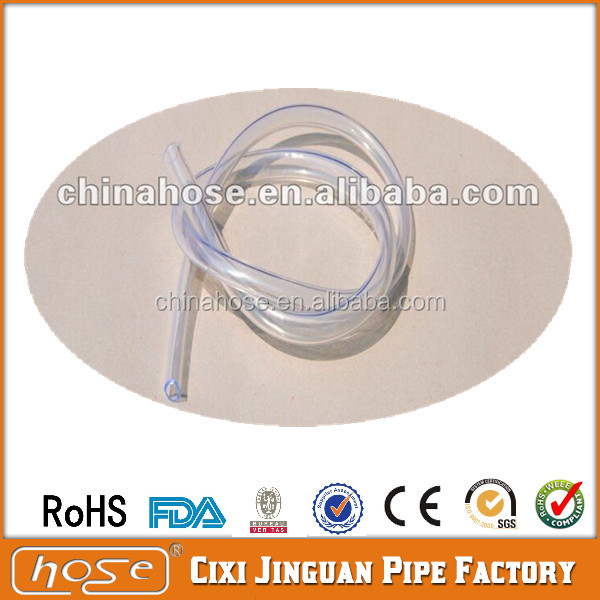 PVC Clear Soft Hose Medical Use Plastic Tube Clear Vinyl Tubing Customized Size wholesale