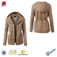 Fashion Womens Winter Military Anorak Safari Jacket With Pockets