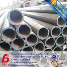 erw welded 4 inch steel cast iron black carbon pipe