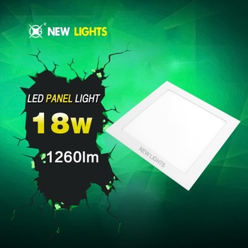 Led panels round, square, recessed and surface mount 9w 18w led panel