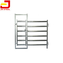 Self standing steel tube farm fence cattle manway Gate in Panel manufacturers