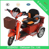electric passenger tricycle three wheel scooter solar for passenger