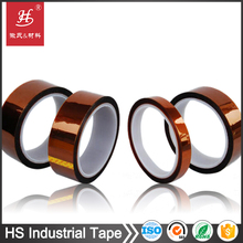 Heat resistant silione adhesive single/double sided polyimide tape