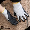 SRSAFETY HPPE & glassfiber nitrile coated cut level 5 work glove