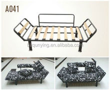 High quality foldable bedroom sofa bed frame