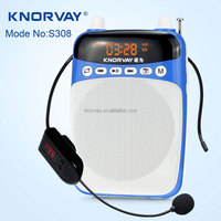 S308 multifuctional FM radio , voice amplifier, MP3 music player wireless speaker