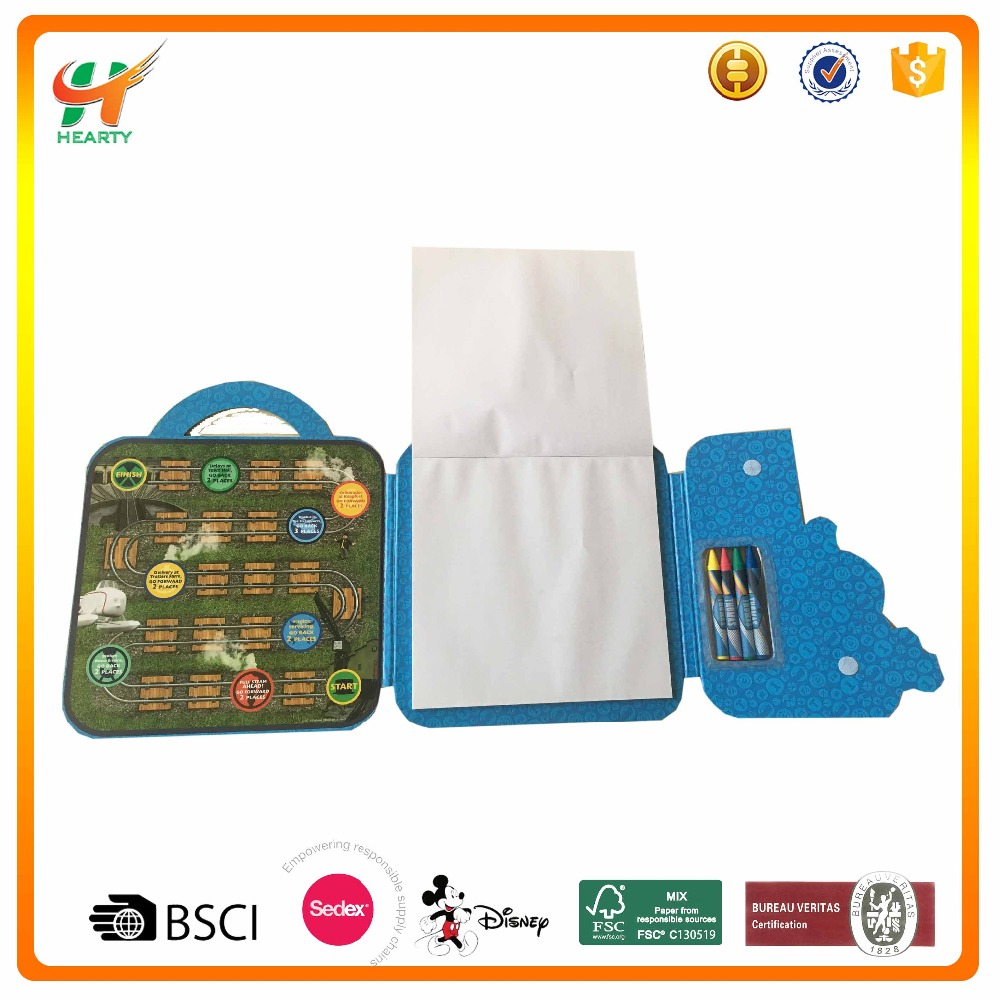 Wholesale Fashionable Customized Logo  Kids Gift Set Stationery with Cartoon Image on Cover for School