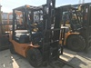 Used Toyota 3 ton diesel engine forklift truck good air intake system