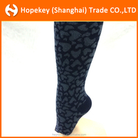 New design dots heart-shaped jacquard cotton pantyhose/tights for baby girls