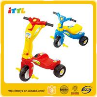 Dual-use kids bicycle fashional baby bicycle 3 wheels plastic baby scooter