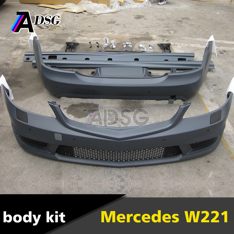 Mercedes S class W221 AMG look auto pp body kit bumper 2005 - 2009