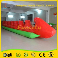 Newly Style Inflatable Dragon Boat/Inflatable Fly Fish Tube/Inflatable Towable Tube For Hot Sale