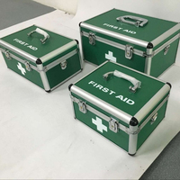 Aluminum Alloy First Aid Box with Locks and Handle,Medical First Aid Box,First aid kit box