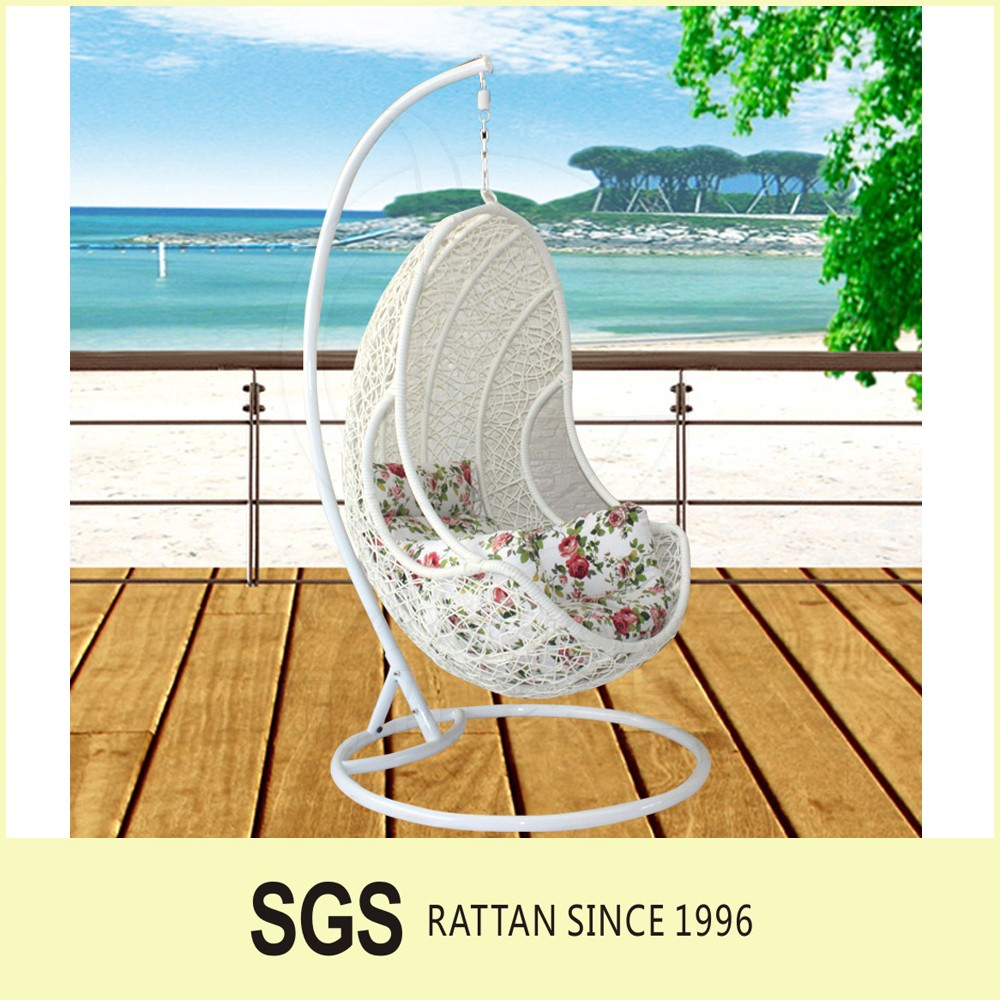 LIGO Hot Sell Outdoor Wicker Hanging Egg Chair Swing Chair