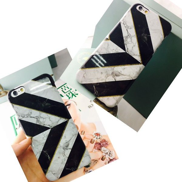 Mobile phone case with marbling pattern for iphone6