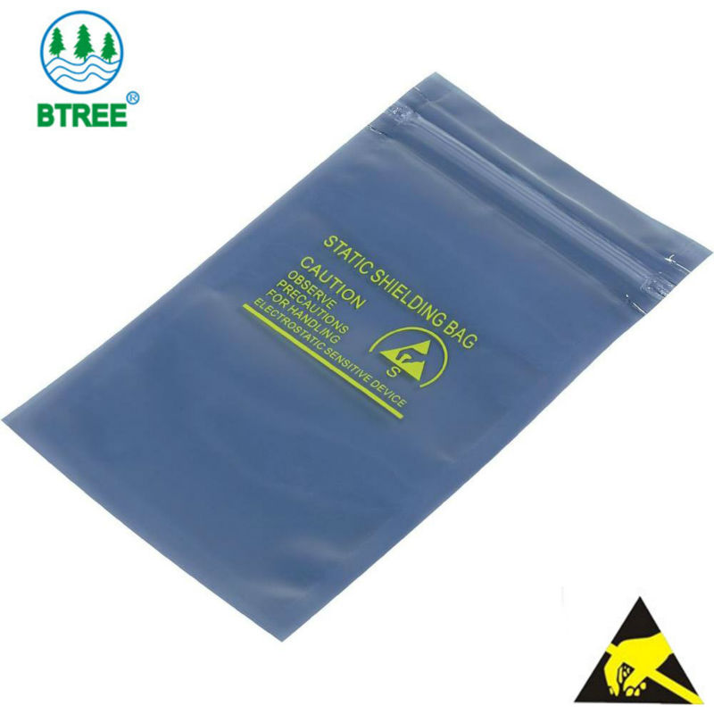 Btree Ziplock Static Shielding Bag To Prevent Damage From ESD