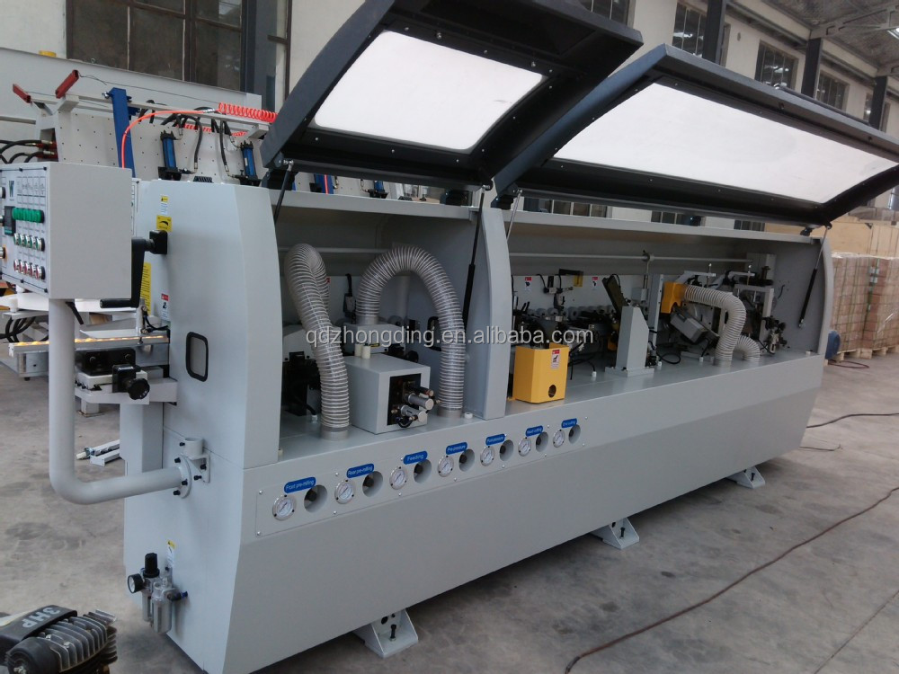 Hot sale woodworking edge banding machine with slotting function