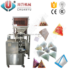 Automatic Vertical Triangle Pyramids Tea Bag Packaging Machinery