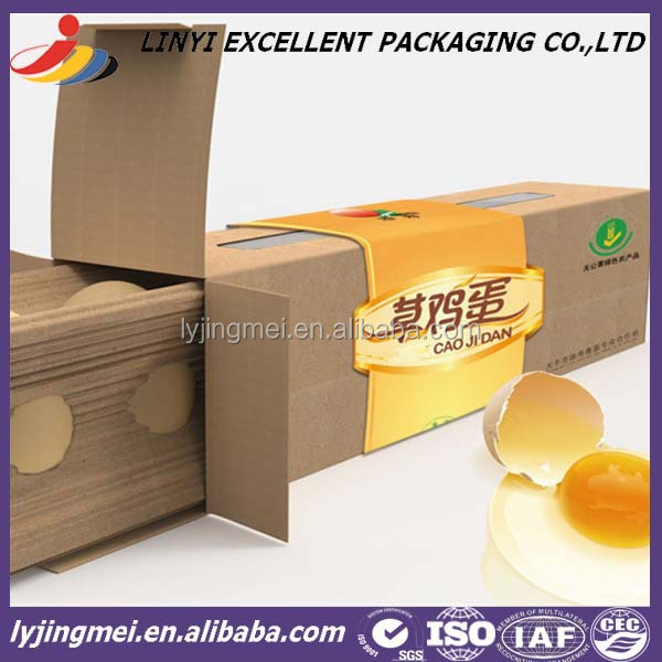 low price custom box for egg packing
