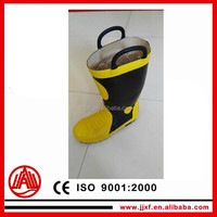 Protection boots for firemen to anti fire and safety work
