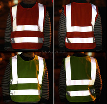 Yiwu United crafts Mesh Fluorescent mesh Safety Reflective Vest Motorcycles Men's Jacket Reflective Safety Vest