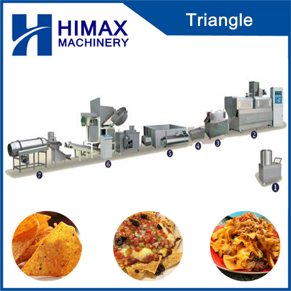 single screw new condition corn tortilla machine
