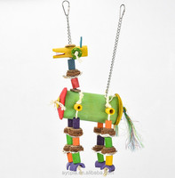 AYC Coollapet Natural Bamboo Parrot Toy