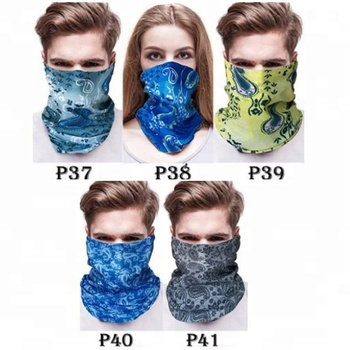 KaPin multifunction 3d printed scarves UV protective elastic headband seamless neck tube scarf