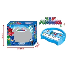 2018 popular musical instruments toys PJ MASK electronic organ with light and music