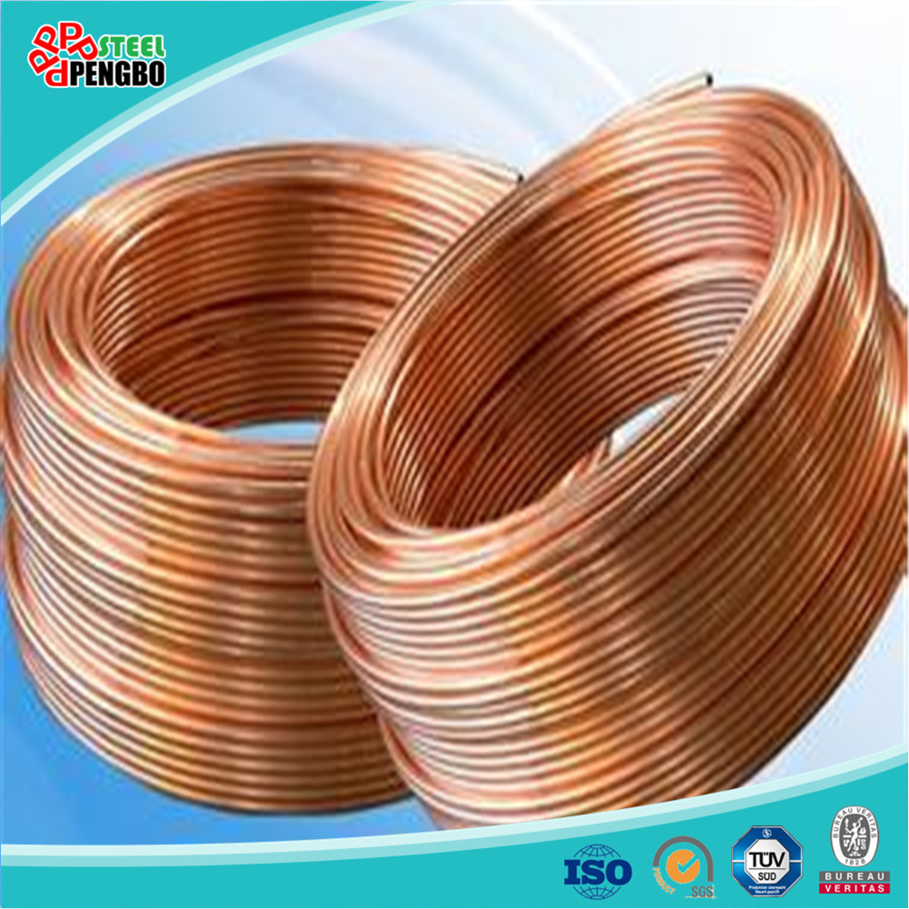 air conditioner copper pipe pancake coils