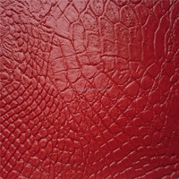 Top quality Crocodile grain faux leather for sofa/furniture DG0215
