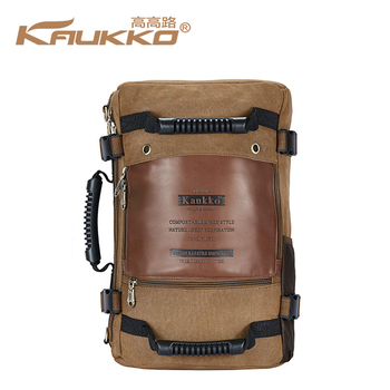 b32c3df899cc 2018 China Supplier EuropeStyle Vintage Canvas Multi-fonction Backpack Travel  Bag