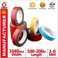 Double Side Arcylic Adhesive Pe Foam Tape Shape Widely Used