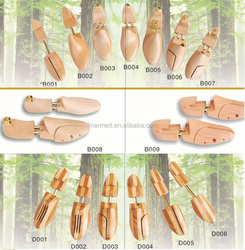 cedar wooden shoe trees